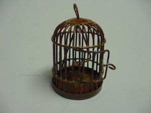 Rusty Old Bird Cage